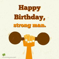 Birthday Wish For Good Friends Who Hits The Gym And Is Strong