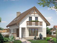 Proiect casa cu Mansarda m2011 | Proiecte de case, proiecte de case ...