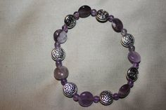 Crown Chakra Bracelet by HolisticBliss on Etsy, $15.00