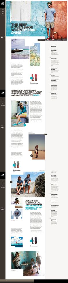 post page concept. #webdesign #layout