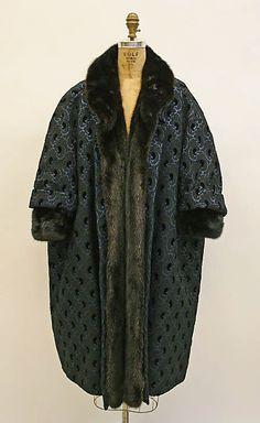 "The Metropolitan Museum of Art  ~""Tour de Valse"" fall/winter 1957-58 Dior~"