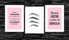 Makeup Bar, Eyebrow Design, Perfect Eyes, Instagram Blog, Art Store, Diy For Girls, Eyebrows, Lashes, Lettering
