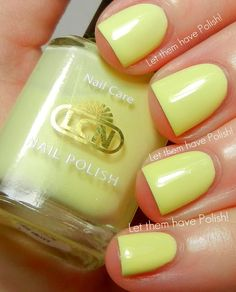 Let them have Polish!: @LCN USA Blossom Sorbet Collection- Spring Nail Art Look