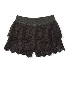Crochet Soft Shorts (original price, $18.00) available at #Justice