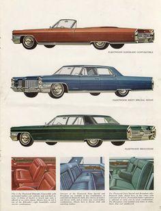 1965 Cadillac Lineup Ad