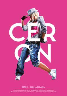 Ceron Dance School Posters Design on Behance in Poster
