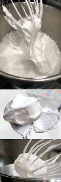 CÓMO HACER MERENGUE? Existen 3 tipos de merengue: el suizo, el francés el italiano.  #merengue #buttercream #cakes #suizo #perfecto #reposteras  #pan #panfrances #panettone #panes #pantone #pan #recetas #recipe #casero #torta #tartas #pastel #nestlecocina #bizcocho #bizcochuelo #tasty #cocina #chocolate   Si te gusta dinos HOLA y dale a Me Gusta MIREN...