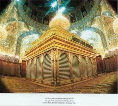 Inside Shrine of Imam Ali (AS)