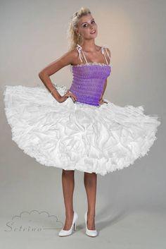 Petticoat GLACIER white