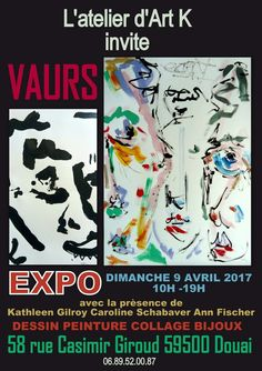 I am thrilled to have Johan VAURS exhibit his work at my studio.. All Welcome !