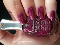Sally Hansen - Diamond Strength - Wedding Crasher    #sallyhansen #pink #glitter