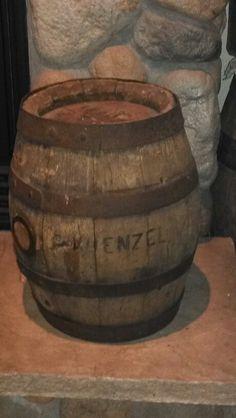 Kuenzel Stevens Point beer barrel