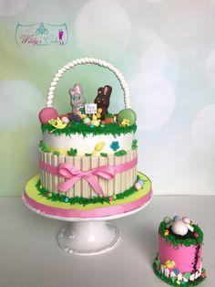 Elegant girly chic sprinkle cake Custom cakes from Wildys Cake