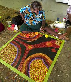 Our Studio | Mimi Art Gallery Gracie Ward Napaltjarri