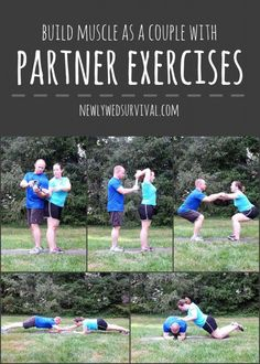 Thigh exercises: Tone up fast with our challenge Building Muscle as a Couple with Partner Exercises – Thigh Exercises, Partner Exercises, Partner Yoga, Buddy Workouts, Fun Workouts, Couples Workout Routine, Couple Workout, Couples Exercise, Fitness Photoshoot