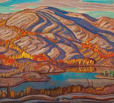 Jackson, October Evening, 1934 oil on canvas x cm Collection of the Winnipeg Art Gallery Gift of Chief Justice G. Landscape Mode, Landscape Quilts, Landscape Paintings, Landscapes, Acrylic Paintings, Oil Paintings, Group Of Seven Paintings, Winnipeg Art Gallery, Canadian Nature