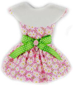 Sunburst Daisies Dress - Pink/Apple Green