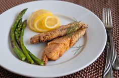Pan-fried fish, an easy weeknight meal.