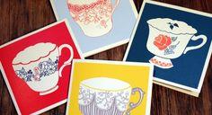 greeting tea cards
