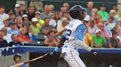 Lewis Brinson's slamami breaks the tie in the sixteenth - http://www.beachcarolina.com/2014/07/30/lewis-brinsons-slamami-breaks-the-tie-in-the-sixteenth/ PELICANS SWEEP P-NATS WITH WIN IN LONGEST GAME OF 2014  WOODBRIDGE, VA July 30, 2014 – The Myrtle Beach Pelicans, Class A-Advanced affiliate of the Texas Rangers, knocked off the Potomac Nationals in a 16-inning affair 10-6 on Wednesday afternoon at Pfitzner Stadium. Lewis Brinson launched a gr... Beach Carolina Magazi