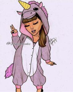i love u ariana Ariana Grande Drawings, Ariana Grande Fans, Ariana Grande Wallpaper, Cartoon Drawings, Cute Drawings, Adriana Grande, Beautiful Unicorn, Celebrity Drawings, Cute Cartoon
