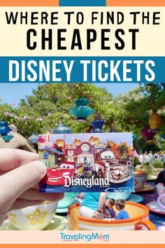 Want to save a TON of money on your Disney vacation? Get all the best tips on where to get the cheapest Disney tickets including other money saving Disney travel ideas for Disneyland and Disney World. Cheap Disney Tickets, Discount Disney Tickets, Disneyland Tickets, Disneyland Vacation, Disneyland Tips, Disney Vacation Club, Disney Vacation Planning, Orlando Vacation, Walt Disney World Vacations