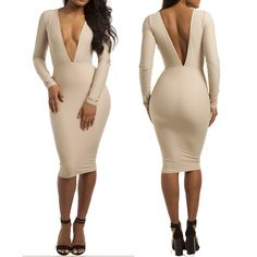 Off-Shoulder Dolman Long Sleeve Bodycon Dress