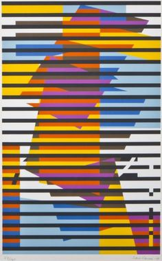 Striped Composition, 1982 by Sam Vanni on Curiator, the world's biggest collaborative art collection. Paint Chip Cards, Composition Art, Digital Museum, Collaborative Art, Art Forms, Art Drawings, Abstract Art, Quilts, Artwork