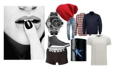 """""""dreamer"""" by blankakvas on Polyvore featuring Diesel, Officine Generale, Thierry Mugler, Belstaff, women's clothing, women's fashion, women, female, woman and misses"""