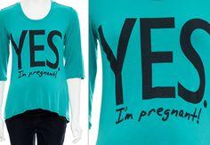 Camisetas divertidas para grávidas - Bebê.com.br