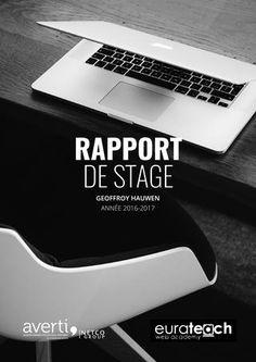 Rapport de stage - Agence Averti  Réalisation d'un stage en développement Web à Lille www.geoffroyhauwen.com