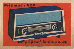 czechoslovakian #matchbox label by maraid, via Flickr  To Order your business' own branded #matchbooks GoTo: www.GetMatches.com or CALL 800.605.7331 to place your order Today!