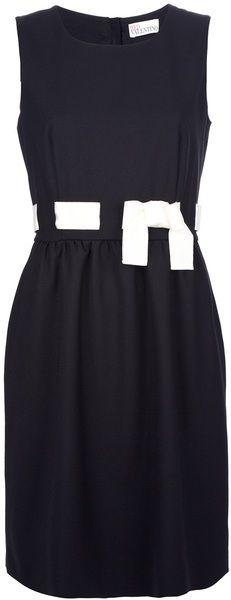 Woven Bow Dress - Lyst