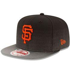 best cheap 18736 cf5ce New Era San Francisco Giants Black Flow Flect Original Fit 9FIFTY Snapback  Adjustable Hat