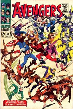 Cover for The Avengers (Marvel, 1963 series) #44