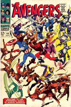 Avengers # 44 by John Buscema & Vince Colletta