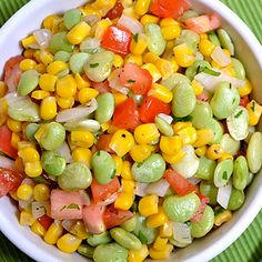 5 easy weeknight meals - 1 can of beans. Try this Summer Succotash! #recipes #healthyrecipes #summer | everydayhealth.com