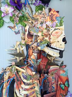 New Anatomical Collages by Travis Bedel- thisiscolossal.com