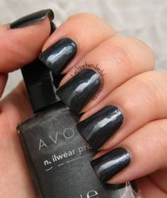 Avon Nailwear Pro Gunmetal   Cajkine kandže i sve njihove boje