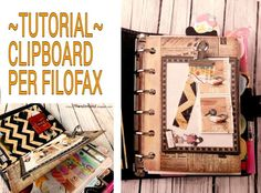 Lucy-Wonderland_Tutorial: clipboard for the filofax