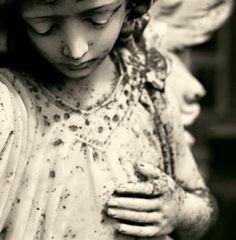 Angel in Irish cemetery