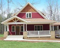 diseño de casa con cochera independiente
