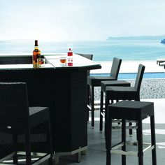 Piazza Outdoor Bar Stool. Taking the general bar stool and spicing it up, our Piazza Bar stool comes in both  stackable and non-stackable options.