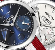 Pequignet Rue Royale GMT Watch