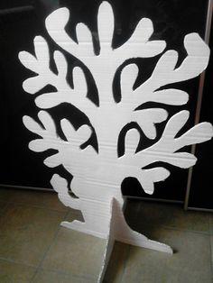 Sagoma albero in cartone