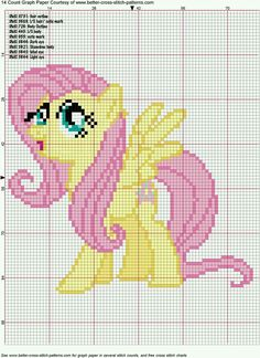 My little pony Futtershy Cross Stitch Pattern by ~AgentLiri on deviantART Cross Stitch Pattern Maker, Cross Stitch Charts, Cross Stitch Designs, Cross Stitch Patterns, Cross Stitching, Cross Stitch Embroidery, Embroidery Patterns, Cross Stitch For Kids, Simple Cross Stitch