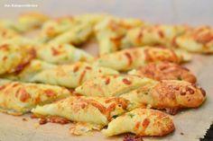 Käsig-würzige Grillbeilage - Breadsticks