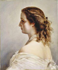 HIM Empress Eugenie of France (1826-1920) née Doña María Eugenia Palafox de Guzmán Portocarrero y Kirkpatrick