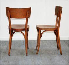 Set of Eight Baumann Bistro Chairs