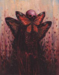 """Lepiphim"" by Dusty Ray aka sloppjockey ☠️ Arte Horror, Horror Art, Creepy Art, Weird Art, Art Sketches, Art Drawings, Posca Art, Arte Obscura, Wow Art"